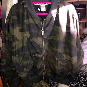 PINK Victoria Secret Flight Jacket(Camouflage)